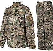 Dětský maskáčový komplet ACU, Rip Stop (kalhoty/blůza), MULTICAM