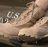 Boty pouštní US ARMY, DESERT