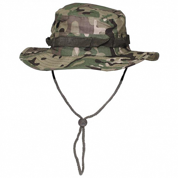 Klobouk JUNGLE, Rip Stop, MULTICAM