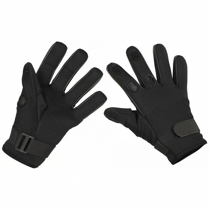 b6eb9315b Taktické neoprenové rukavice, ČERNÁ | Army a military shop Praha